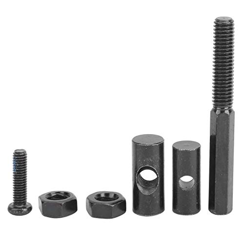 DERCLIVE Kit de tornillos de bloqueo de eje de scooter eléctrico de acero al carbono para MAX G30