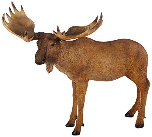 Design Toscano The Moose is Loose Statue, Multicolored