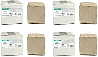 AMACO 46317P 25 -Pound Air Dry Clay, Moist, Gray (Pack of 4)