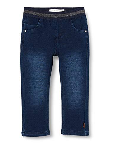 NAME IT Girl Leggings Sweatdenim 98Dark Blue Denim