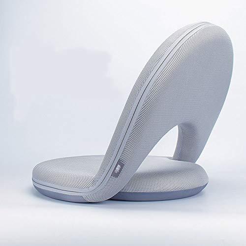 ZAJE Eleganter Mehrwinkel-Bodenstuhl,Sitzkissen mit Verstellbarer Rückenlehne,Klappstuhl ideal als gepolsterter Sitzsack mit Lehne,Bodensitz,Wird als Pflegesitz verwendet