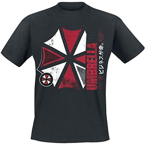 Resident Evil Umbrella Co T-Shirt schwarz XXL