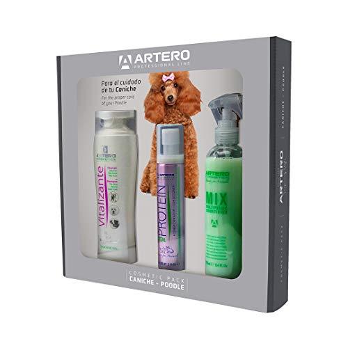 Artero Pack Completo para la higiene de tu Perro (Caniche)