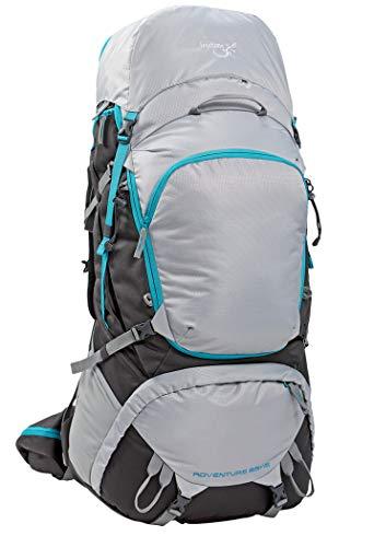 Freetime-Sac à Dos 10 à 100 L-Adventure 85+15L-Sacs à Dos randonnée ou Voyage de Plusieurs Jours-Sac à Dos 85+15 L