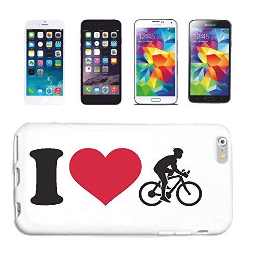 Reifen-Markt Funda para teléfono móvil compatible con Huawei P9 I Love Bicicleta, ciclistas, ciclistas, ciclistas, ciclismo de montaña, funda protectora para teléfono móvil Smart C