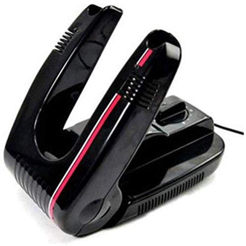 Secador de calzado Secador de zapatos, secador de calentador de arranque, más cálido con plegado y zapato eléctrico portátil Secador de botas de guante Secador de rack secado (color: negro) (Color: Ne