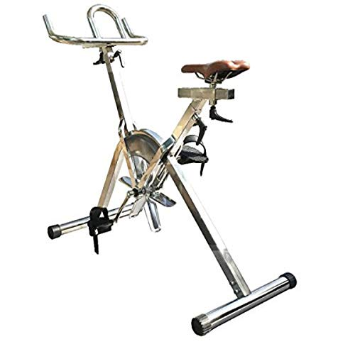 """Fitmax Hydrospin (45x23x44.5"""") Lightweight Exercise Pool Bike Marine Grade Steel"""
