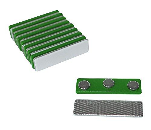 Kaptin - Lote de 10 imanes magnéticos para identificación, con imanes de neodimio
