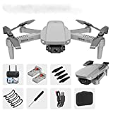 Nywaba 2020 New 4K Camera Rotation Waterproof Professional RC Drone, Ultralight and Foldable Drone Quadcopter with HD Camera Live Video110°Wide Angle Camera for Adults, RC Quadcopter for Beginners