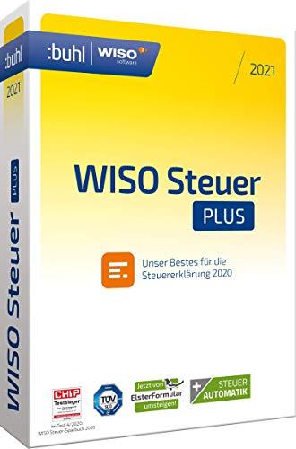 Preisvergleich Produktbild Buhl Data Service GmbH WISO Steuer Plus 2021 (für Steuerjahr 2020 / Standard Verpackung)