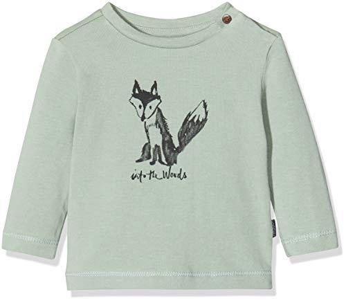 Noppies Baby-Jungen B Tee Regular ls Altus T-Shirt, Grün (Green Milieu P221), (Herstellergröße: 80)