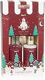 BRUBAKER Cosmetics Set de Regalo para Baño y Ducha Fragancia de Bayas de Invierno - Set de Cuidado de 3 Piezas en Envase de Regalo Navideño - Set de Navidad para Mujeres y Hombres