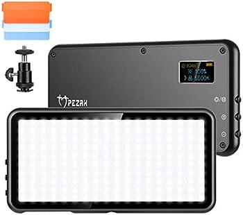 Pezax Bicolor Continuous LED Video Light with Mini Panel