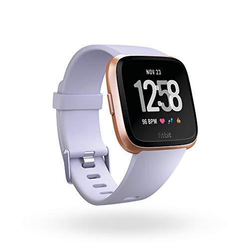 Fitbit Versa Smartwatch Unisex Adulto, Pervinca, Taglia Unica
