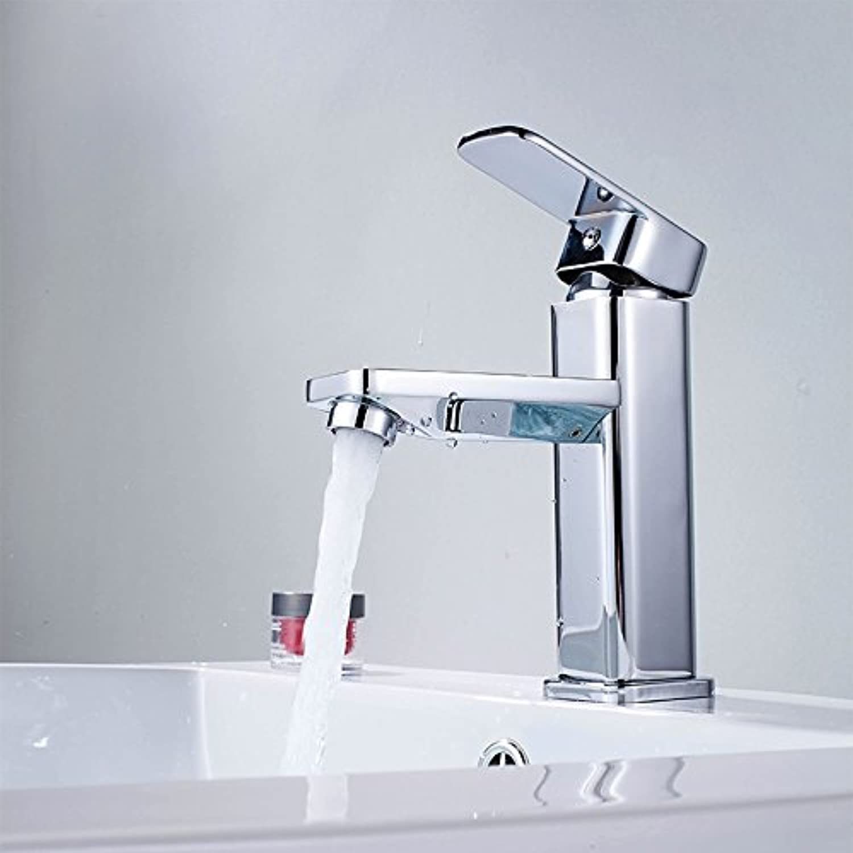 Von YIRUI basin Taps Brass basin faucet hot and cold basin faucet single hole faucet,Taps