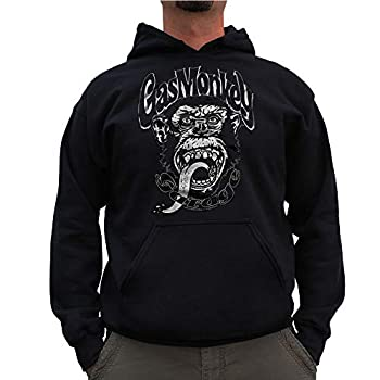 Gas Monkey Garage Officially Licensed GYSOT Big & Tall Hoodie  Black  3X-Large
