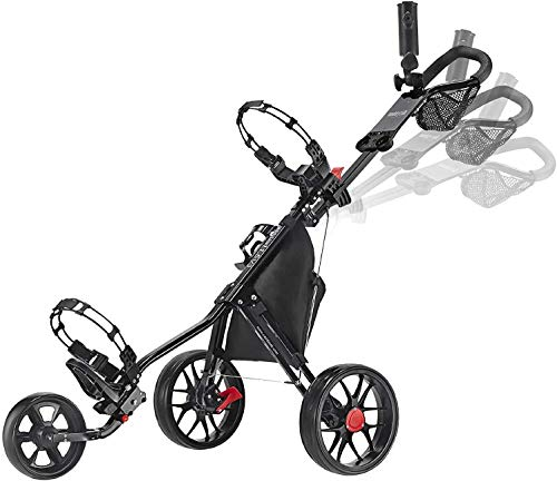 CaddyTek CaddyLite 11.5 V3 Deluxe Golf Push Cart