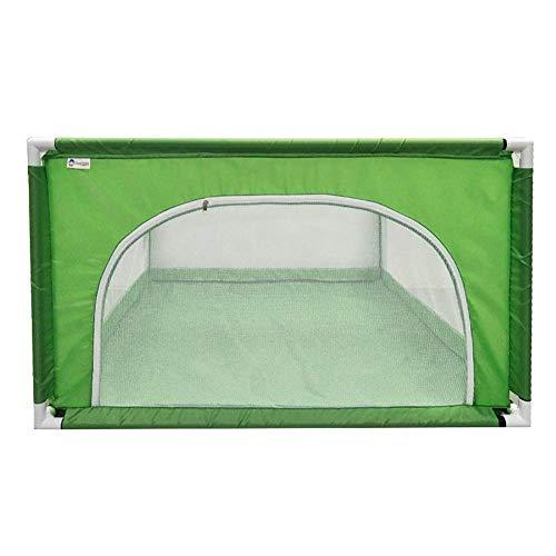 LXDDP Parc sécurité pour Parc pour bébé, Enfants Anti-Collision, barrière Jeu pour Enfants, Centre d'activité et crèche, 120 × 120 × 68 cm (Couleur: Vert)