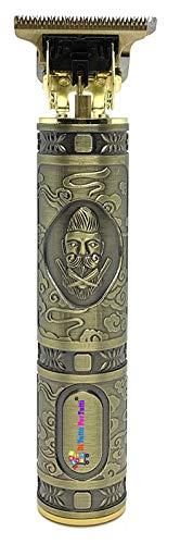 Di todo Per Tutti® - Cortapelos profesional para hombre, recortadora de pelo, máquina de precisión para barba, barba, eléctrica, impermeable, 3 peines con LED Prompt Light, carga USB