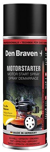 Technischer Handel Moser und Baumgartl Den Braven Profi Motorstarter, Startpilot Spray 400ml für Alle Motoren als Starthilfespray für Kaltstart verwendbar