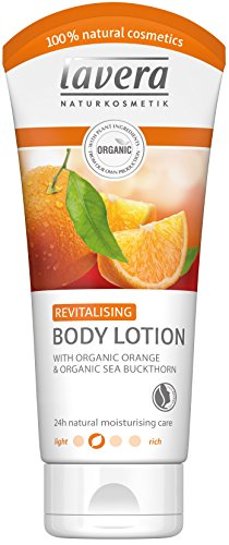 lavera Revitalising Body Lotion, Organic Orange and Sea Buckthorn