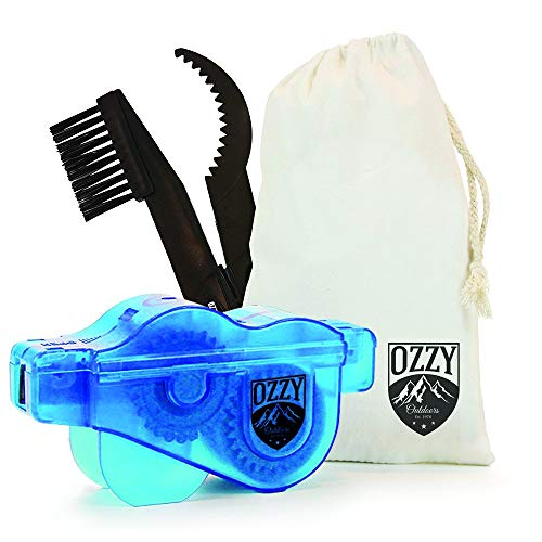 Bike Chain Cleaning Tool by Ozzy Outdoors-Our Newly Designed Cleaner...