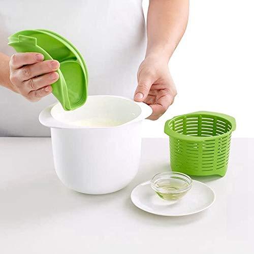 Herramientas de queso de microonda Fabricante del Queso auto de bricolaje Herramientas de queso fresco Saludable Familia Gadgets de cocina Set