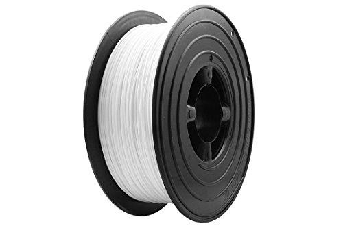 OWL-Filaments 3D Drucker 1kg Filament Rolle PLA 1.75mm 1000g Spule Made in Gemany Premium Qualität (PLA 1,75mm, Weiß)