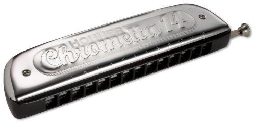 Hohner 257/56 (c) Chrometta 14 Nota do/56 voces con cambio.