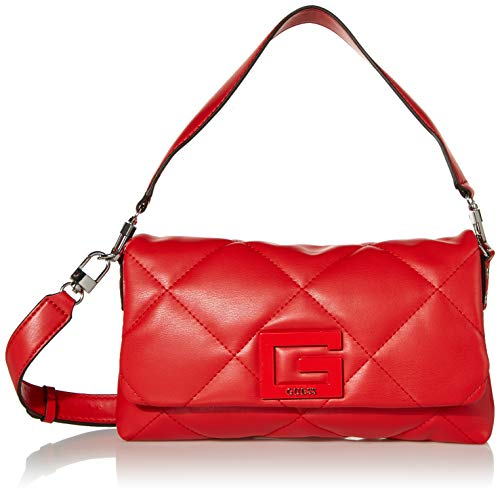 Guess Brightside Shoulder Bag Red