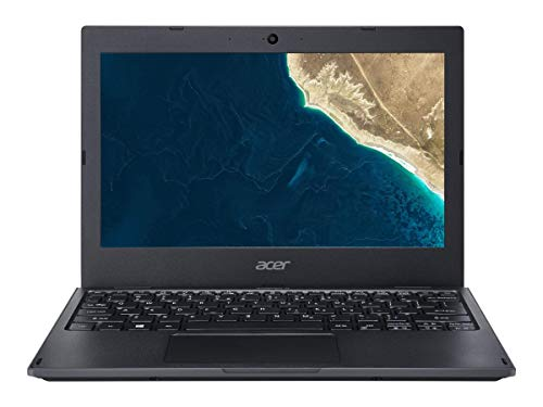 Acer TravelMate - 11.6' Laptop Intel Celeron N4100 1.1GHz 4GB Ram 128GB SSD W10P (Renewed)