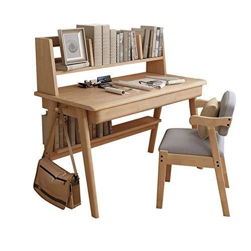 XSN Kinder Sitzgruppe,Kindermöbel Set Kleines Bücherregal Mit Desktop-Speicher, Schreibtisch Zwei Schubladen Und Einer Offenen Speicherpartition Unter Dem Tisch