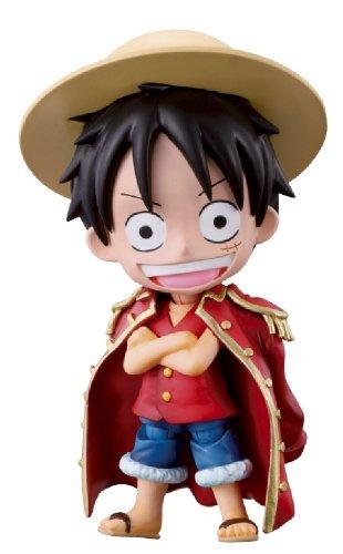 One Piece Chibi-Arts Figurine: Monkey D. Luffy 10 cm (avec accessoires)
