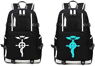 Loveylife Fullmetal Alchemist Backpack Brotherhood Anime Cosplay Backpack Edward Elric Cosplay