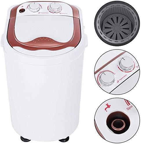 Miniwaschwaschine, Waschmaschine, Mini-Waschmaschine, Camping-Waschmaschine, Wäscheschleuder, für Singles, Studentenhaushalte, Camper