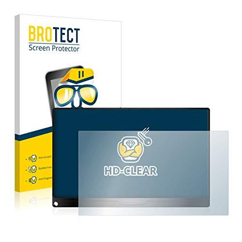 BROTECT Schutzfolie kompatibel mit Uperfect 156 klare Displayschutz Folie