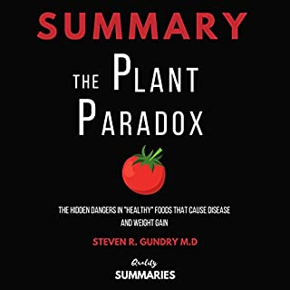 Summary: The Plant Paradox audiobook cover art
