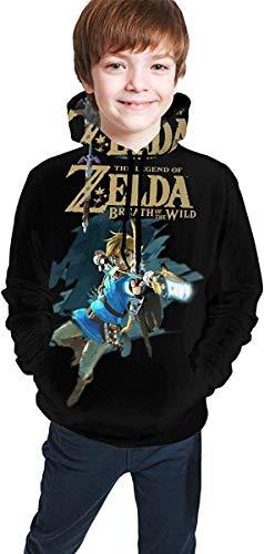 ibishibi8 Kind mit Kapuze Sweatshirt Kid's/Youth 3D Printed Novelty Hoodies The Legend of Zelda Hooded Sweatshirt Teen Boys Girls Pullover Hoodies
