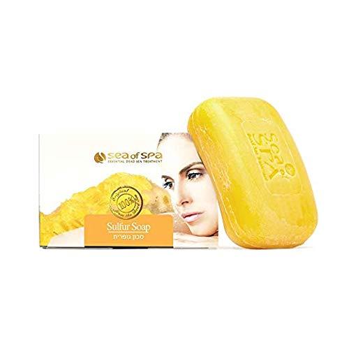 Dead Sea Minerals Sulphur soap Acne Psoriasis Care by Sea of Spa