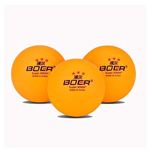 KATELUO 10 Pezzi Palline da Ping Pong da Competizione 3 Stelle, 40+ Palline da Ping Pong Professionali in ABS, Ideali per Giochi All'aperto e al Coperto per Bambini e Adulti