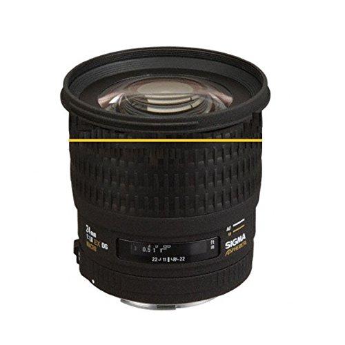 Sigma Weitwinkel-Objektiv für Sony Alpha und Minolta Maxxum (24 mm f/1,8 EX), Asphärische DG D