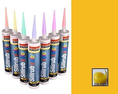 Build With Colour Ral 1023 Amarillo Sellador de Silicona