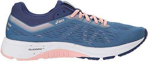 ASICS Women's GT-1000 7 Running Shoes, 7.5M, Azure/Blue Print