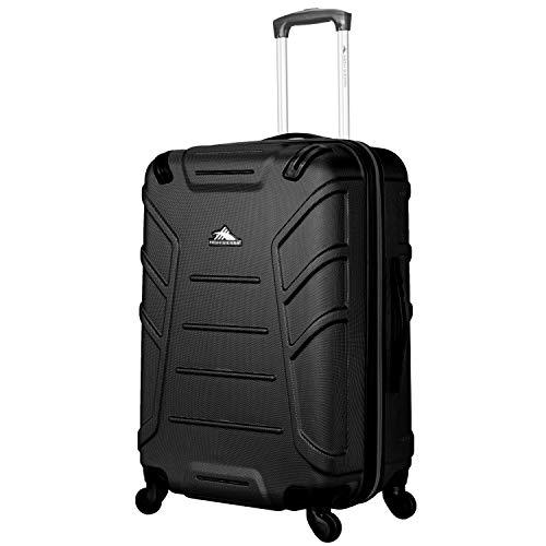 High Sierra Rocshell Hardside Spinner Luggage, Black, 20'