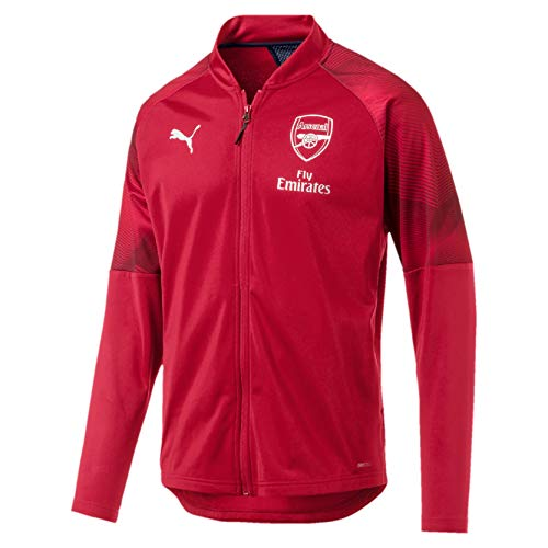 PUMA Arsenal FC Stadium Jacket with Sponsor Logo with Zipped Pock - Chaqueta Hombre