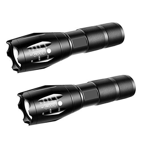 GSBLUNIE LED Tactical Flashlight,Water Resistant,Handheld...
