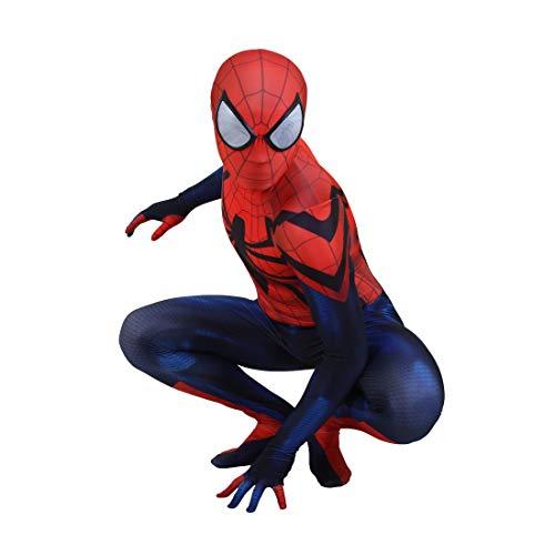 Traje de Cosplay de Spiderman Lycra Spandex Zentai Halloween Original Traje de Spider Man Disfraces de Cosplay Adultos/Nios Estilo 3D Unisex
