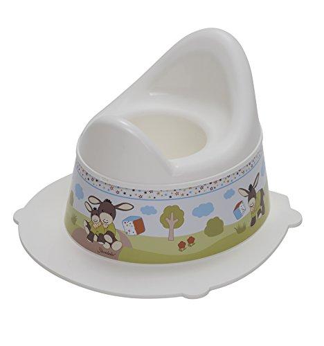 Rotho Babydesign Pot pour Enfants Emmi StyLe!, Avec Partie Supérieure Amovible, À partir de 18 Mois, StyLe!, Blanc, 202130195BS