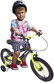 Megastar - s Fury Fox Kids Shaded Bicycle with Training Wheels, Multi-Colour, 14 inches, 14-Mdg