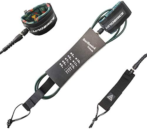 UICE Premium Surfboard Leash Premium Straight Leash for Flat Open Water Stand Up Paddle Board product image
